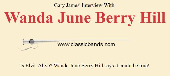 Gary James interview with Wanda June Hill